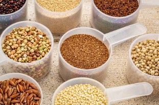these Gluten Free Grains are rich in protein and great alternatives to meat protein.