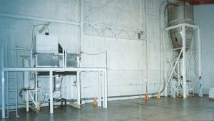 the first food processing equipment used at PacMoore