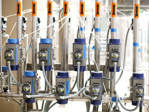 PacMoore Spray Dryer Automated CIP System