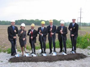 breaking ground for the new pacmoore process technologies in mooresville indiana