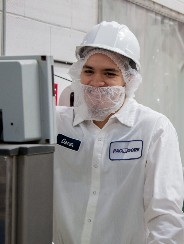 PacMoore Contract Manufacturing Character Growing People Food Industry