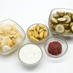 Fermented foods which are good sources of probiotics
